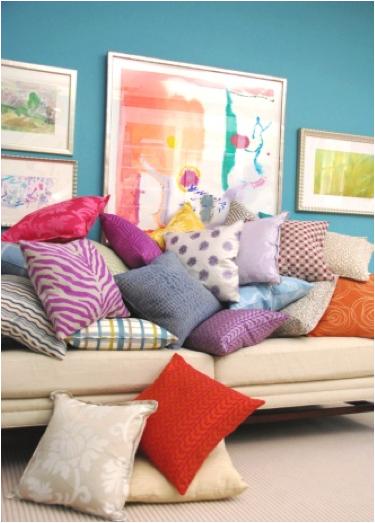 Pillow Power! Definitely purple-licious… - McNabb & Risley