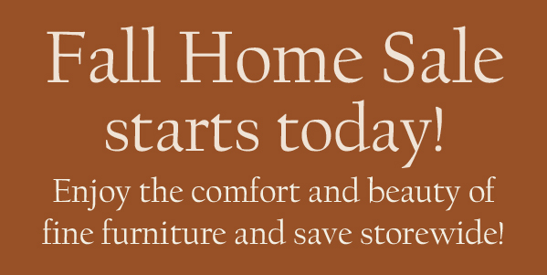 Fall Home Sale Starts Today! - McNabb & Risley