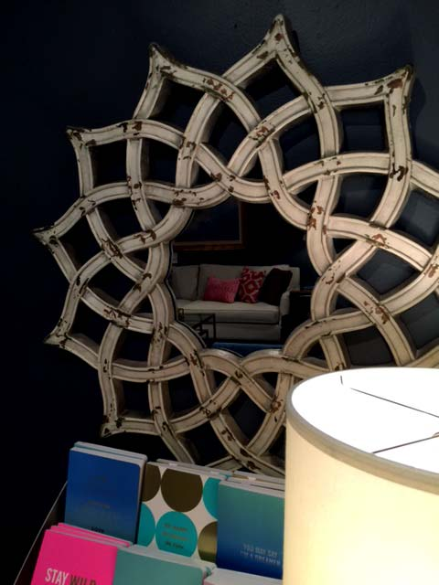 Looking for a small mirror that will make a big design statement? - McNabb & Risley
