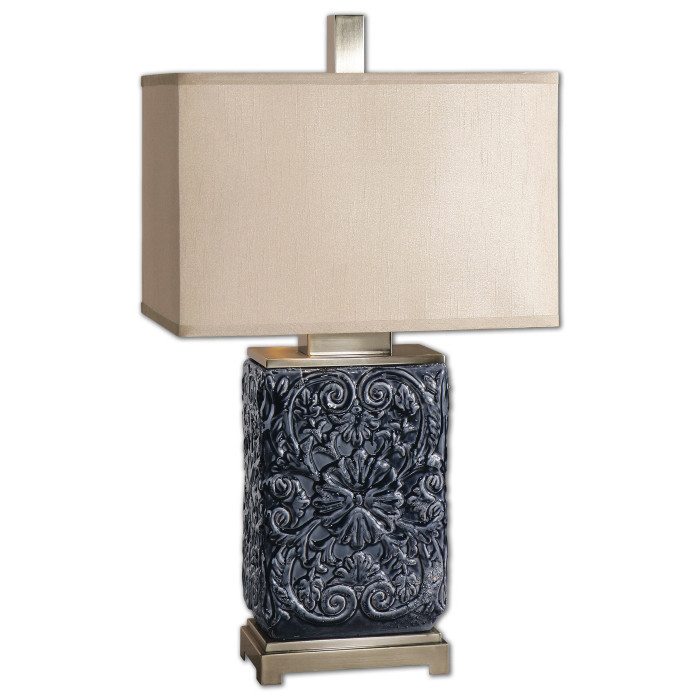 I adore distinctive lighting and this lamp is a perfect example of style and function. - McNabb & Risley