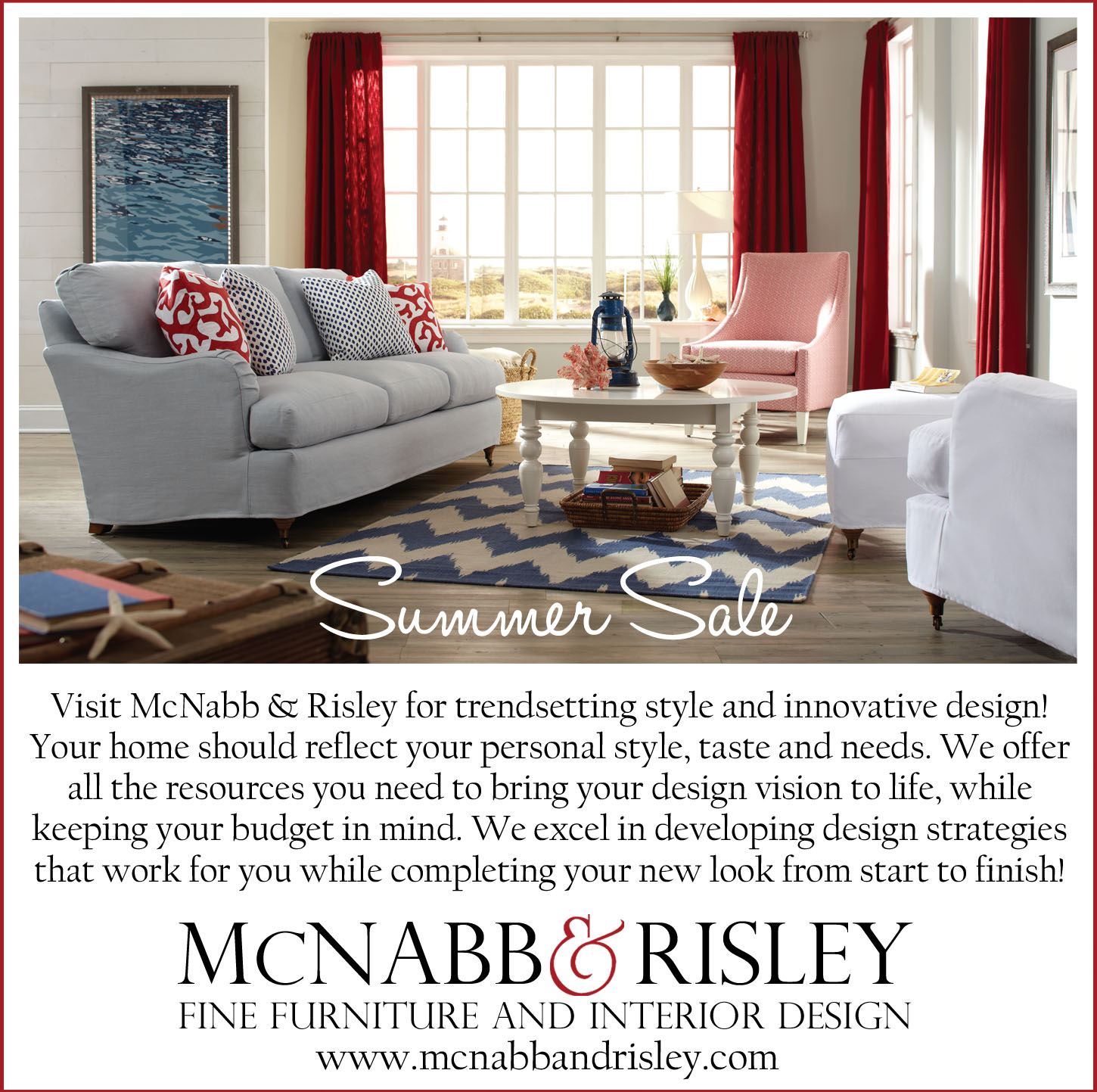 Only five days left to save! - McNabb & Risley
