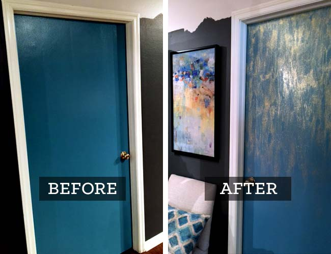August DIY Project: How to glitter a door… - McNabb & Risley