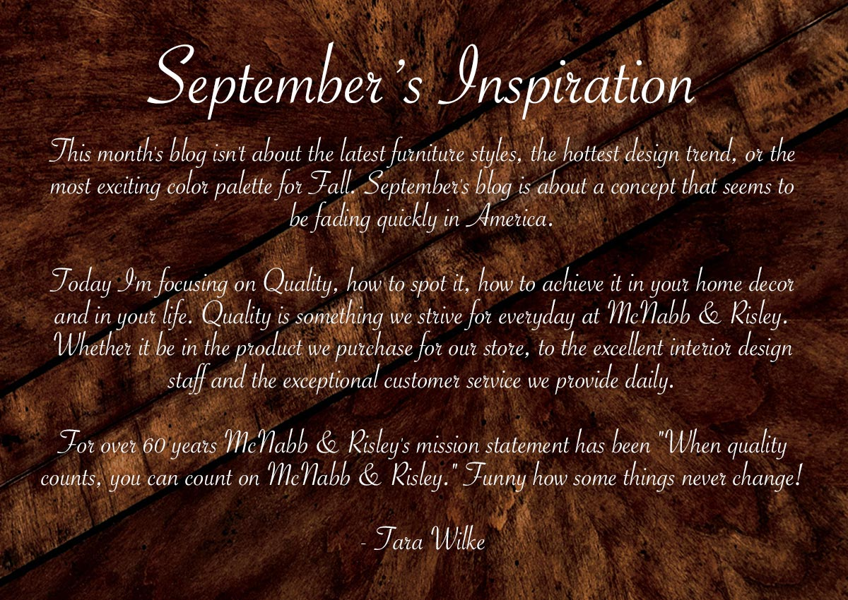 September 2015's Inspire Me Page - McNabb & Risley