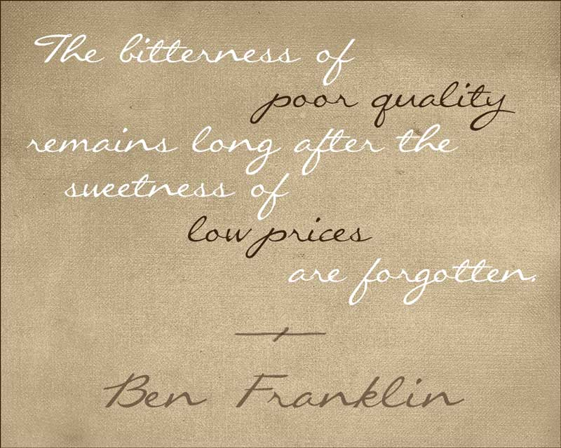 Why Invest in Fine Home Furnishings? This quote sums it up beautifully… - McNabb & Risley