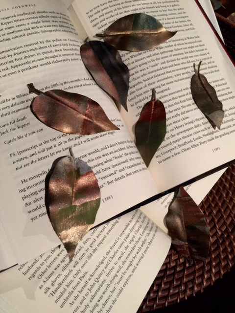 Autumn's DIY Project: Hand-Painted Leaves! - McNabb & Risley