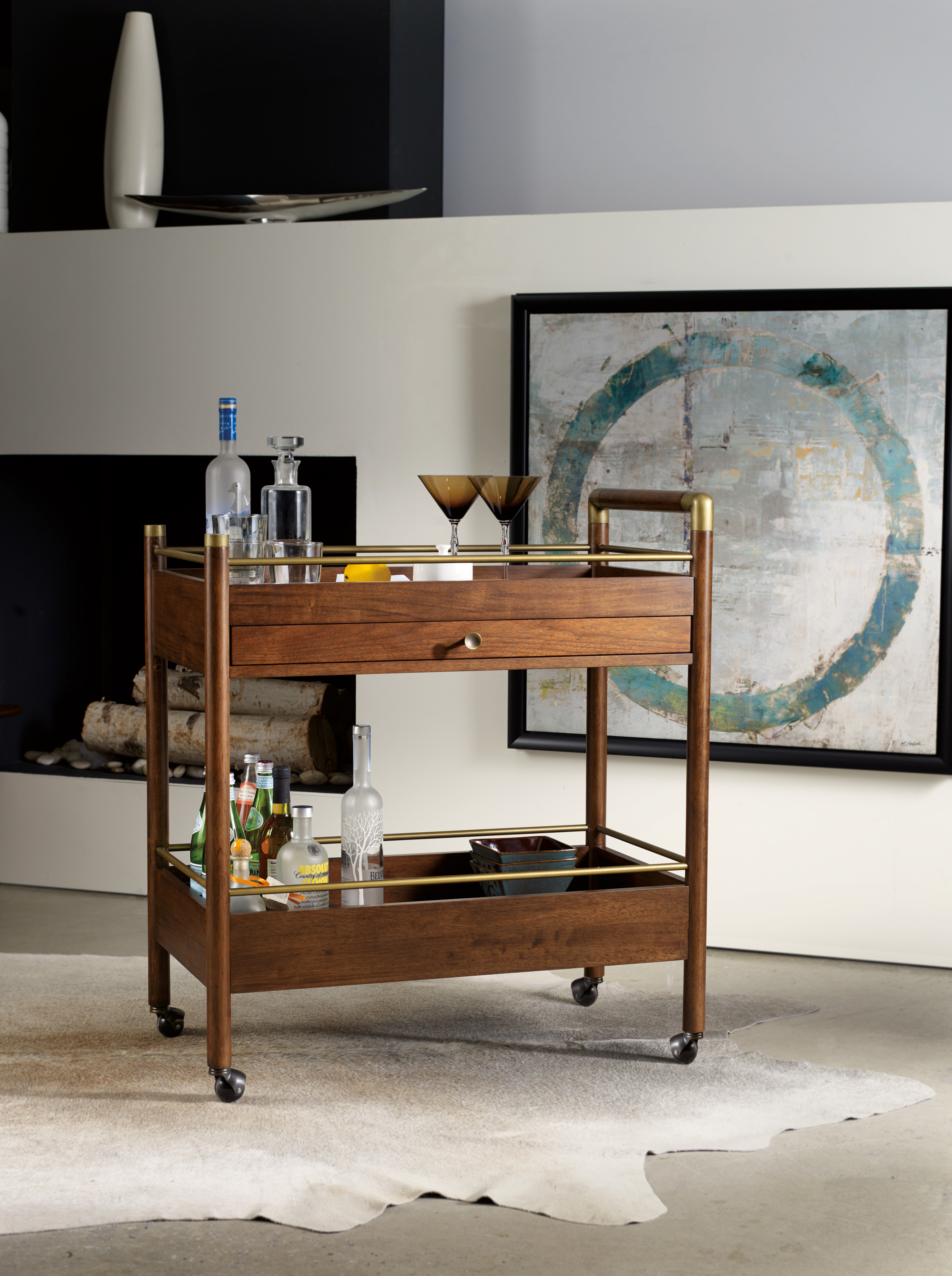 Don't have the room or resources for a luxury bar in your home? I have a simple solution you will love! - McNabb & Risley